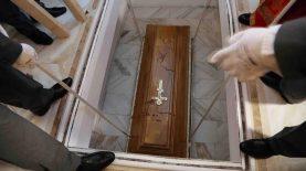 Patrijarh Irinej sahranjen u hramu Svetog Save (FOTO) 19