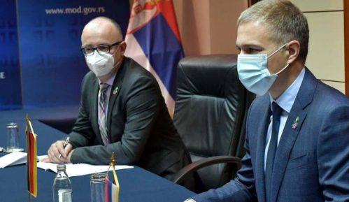 Stefanović i nemački ambasador o multinacionalnim operacijama 9