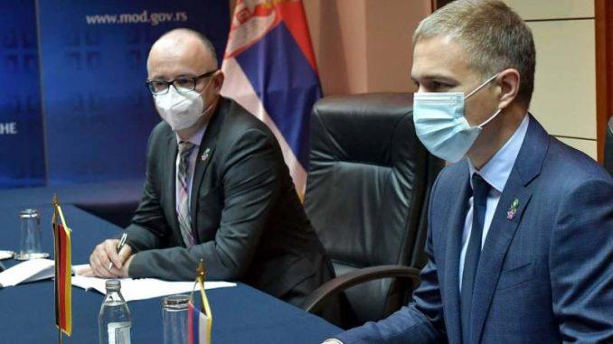Stefanović i nemački ambasador o multinacionalnim operacijama 3