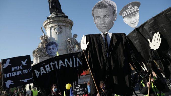 Gnev na ulicama Francuske zbog zakona o bezbednosti i policijske brutalnosti 9
