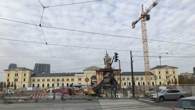Vesić: Radovi na Savskom trgu će biti završeni 25. januara 5