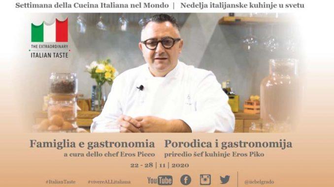 Nedelja italijanske kuhinje u svetu na društvenim mrežama 1