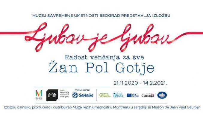 Izložba Žan Pol Gotjea 21. novembra u Muzeju saveremene umetnosti, počela prodaja ulaznica 2