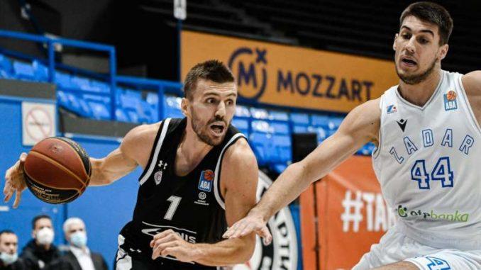 Košarkaši Partizana pobedili Zadar na debiju novog trenera 4