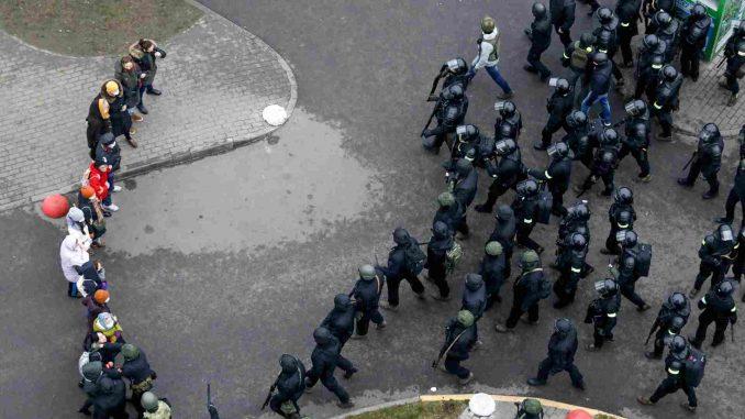 Više od 2.000 penzionera protestovalo u Minsku 100. dana od početka demonstracija 2