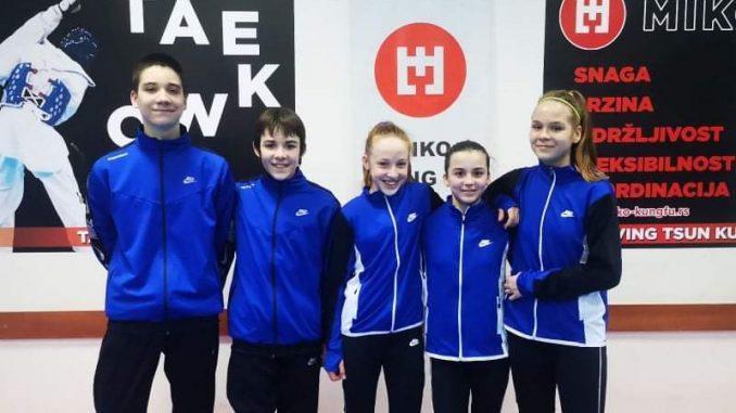 Tekvondisti Banjice na Evropskom klupskom prvenstvu u Zagrebu 4