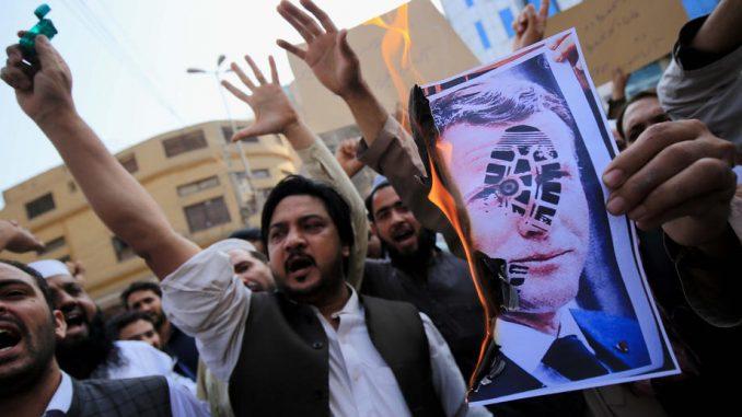 U delu muslimanskog sveta nastavljeni protesti protiv Makrona 4