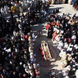 Uprkos apelu prekršene epidemiološke mere na sahrani mitropolita Amfilohija 12