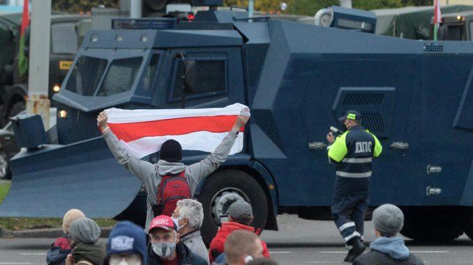 Uhapšeno više 200 ljudi na protestima u Belorusiji 1