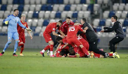 Severna Makedonija na Evropskom prvenstvu u fudbalu 12