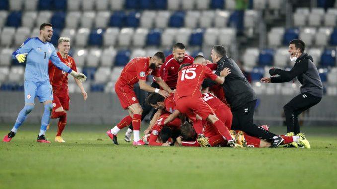 Severna Makedonija na Evropskom prvenstvu u fudbalu 1