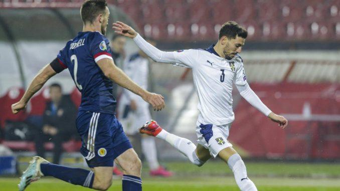 Srbija posle penala izgubila od Škotske u finalu baraža za odlazak na EP 1