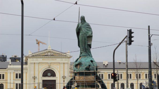 Spomenik Stefanu Nemanji u Beogradu oktriva se večeras 4