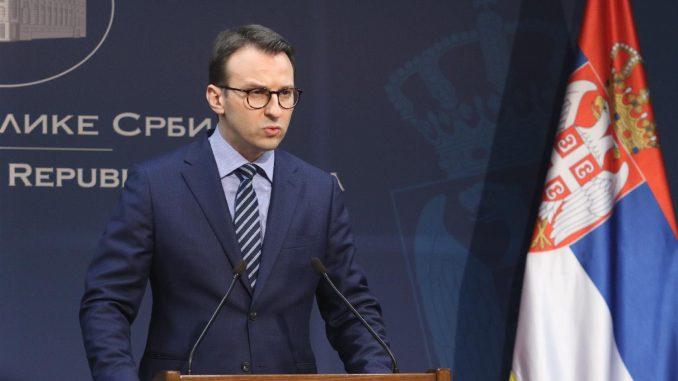 Petković: Nikada Beograd nije nasedao na bilo čije pretnje i provokacije iz Prištine 1