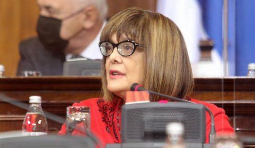 Kako ministarka kulture brani partnera u vlasti Aleksandra Šapića u Narodnoj skupštini 10