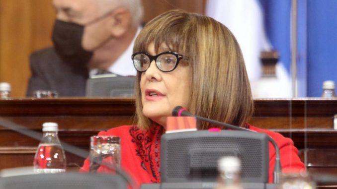 Kako ministarka kulture brani partnera u vlasti Aleksandra Šapića u Narodnoj skupštini 8