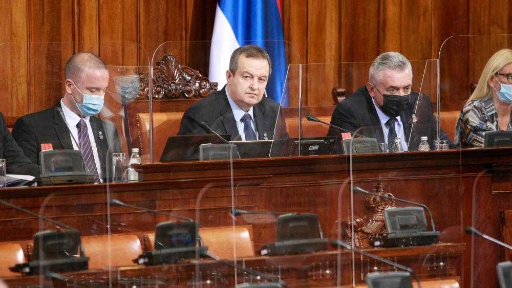 Dačić prvi put upozorio poslanika Skupštine Srbije da pripazi na rečnik 1