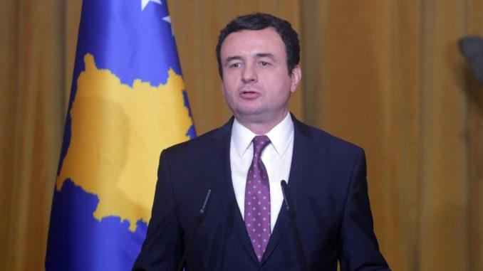 Kurti u Briselu zatražio priznanje nezavisnosti od pet zemalja članica EU 3