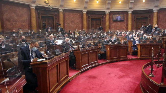 Na sednici Narodne skupštine 15. decembra, o taksi za RTS, članovima REM-a, Beogradu na vodi 4