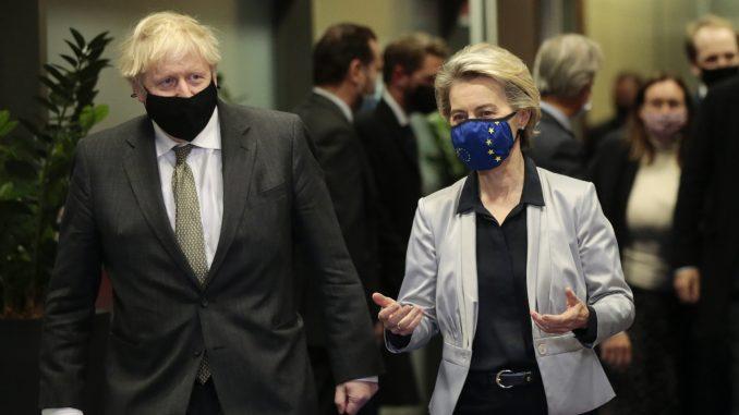 Džonson stigao u Brisel na razgovore sa EU o sporazumu posle Bregzita 1