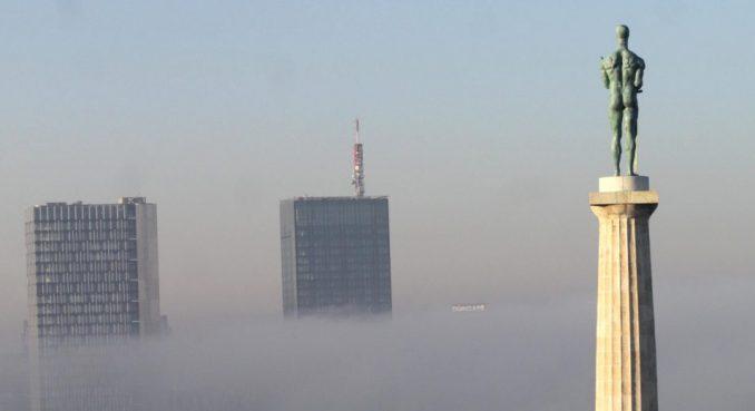 Zagađenje vazduha u Beogradu koje potiče od saobraćaja u proseku 20 odsto 1