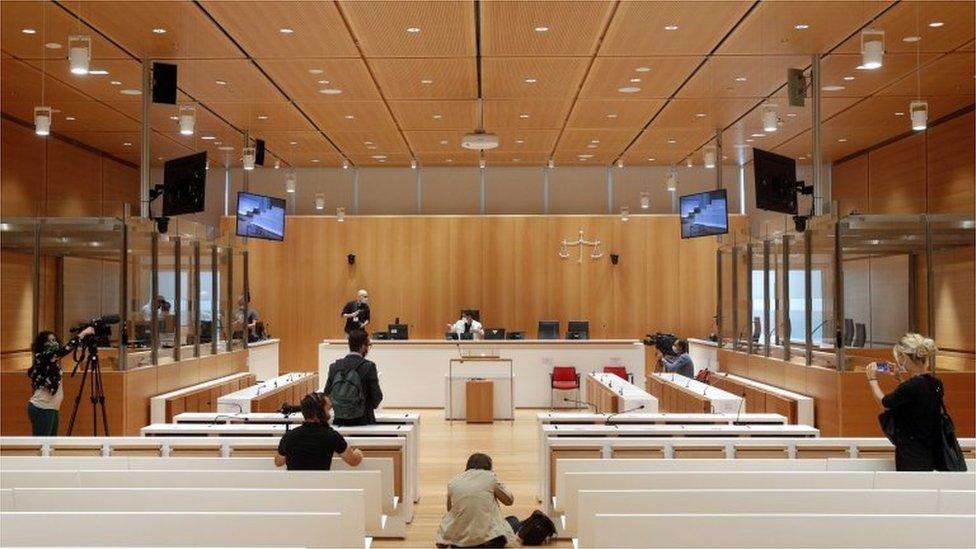 Sudnica u kojoj se odigralo suđenje za smrtonosni napad na Šarli Hebdo
