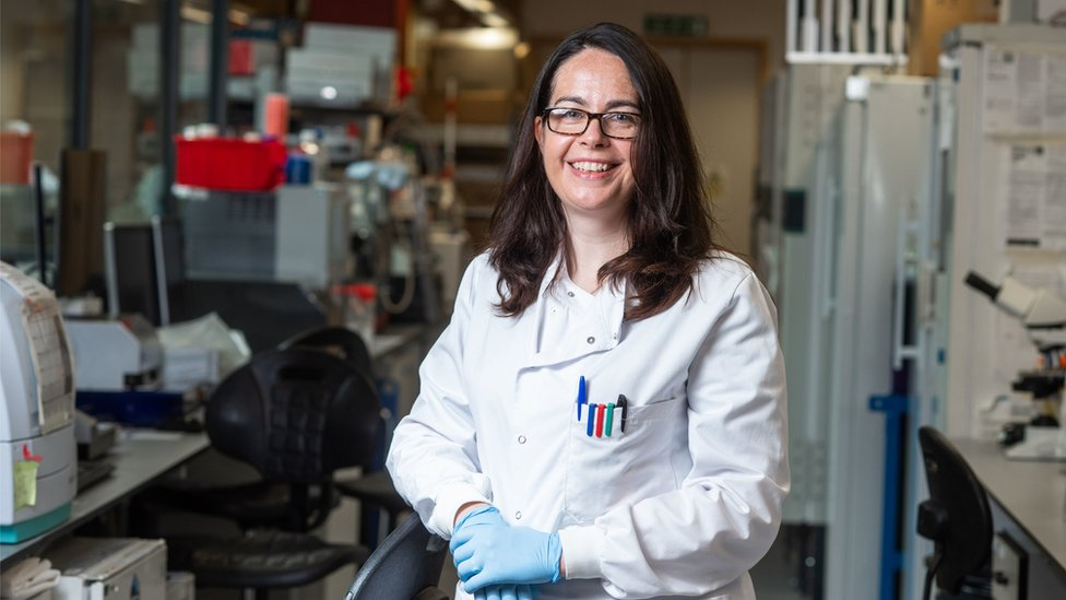 Prof Teresa Lambe, Prof Gilbert's colleague at the Jenner Institute, is working on the new COVID-19 vaccine