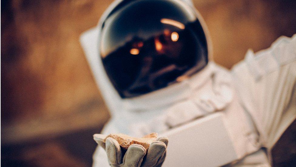 Astronaut in space suit