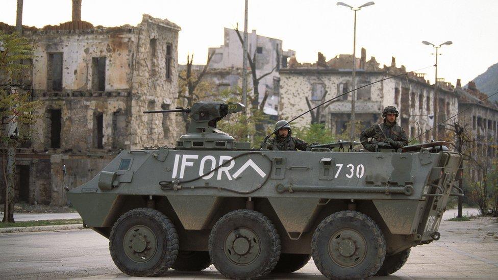 Mostar, novembar 1996.