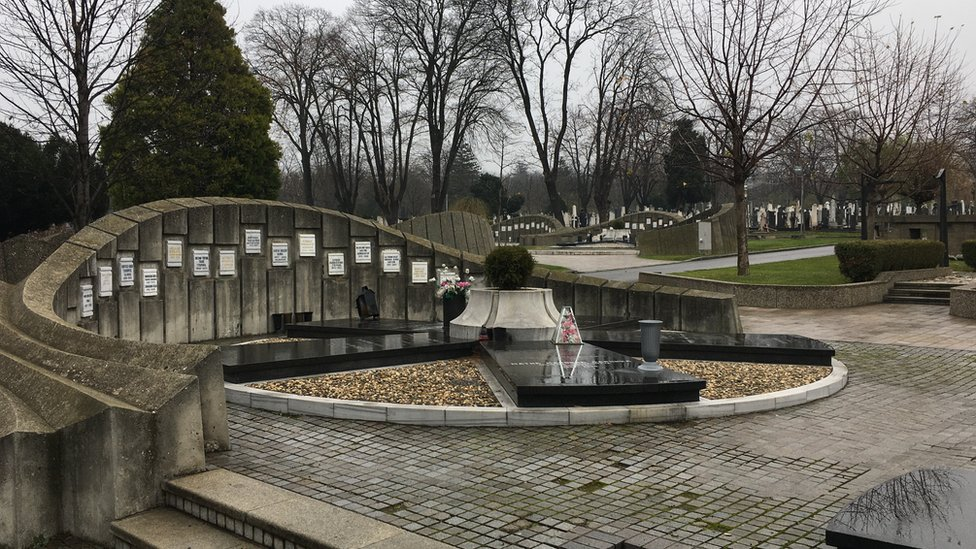 Novo groblje - Aleja zaslužnih građana