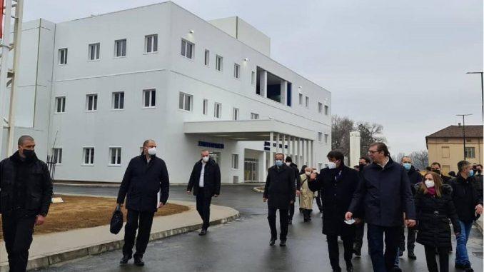 Korona virus: Otvorena nova kovid bolnica u Kruševcu 4