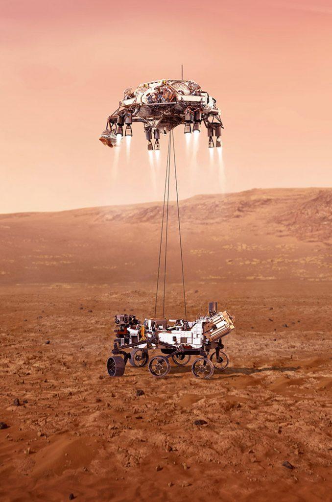 Svemir, Mars i istraživanje: Nasa prikazala kako će izgledati sletanje robota na Crvenu planetu 4