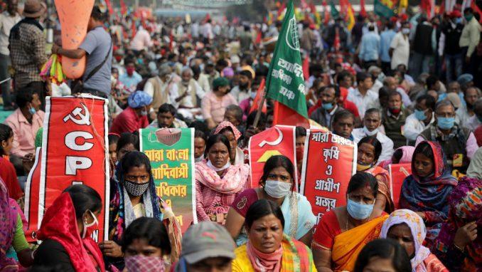Indijski farmeri ne daju da ih vlast ućutka 1