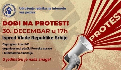 Prostest radnika na internetu sutra ispred Vlade Srbije 11