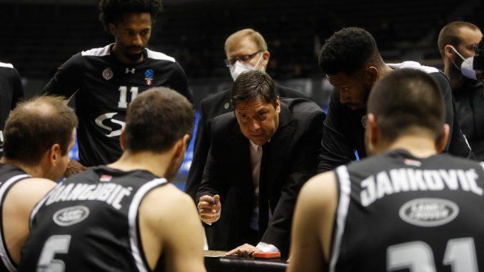 Partizan izgubio četvrti put uzastopno u ABA ligi 4