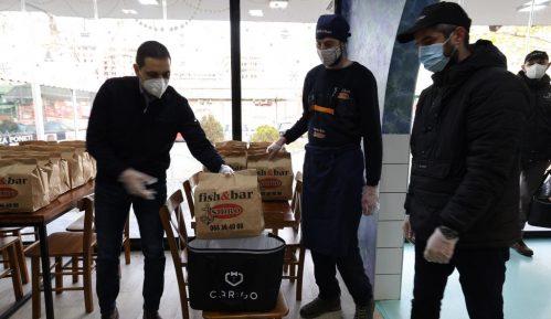 CarGo Batleri nastavljaju humanu akciju: Ovoga puta obroke dobili medicinari iz Kliničkog centra Zemun 5