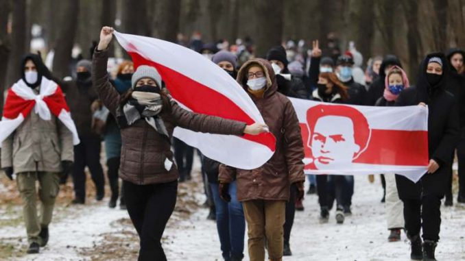 Hiljade Belorusa ponovo demonstrirale protiv Lukašenka, oko 100 uhapšenih 1