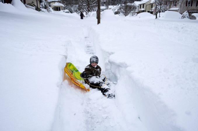 Veliki sneg pokrio severoistočne delove SAD 1
