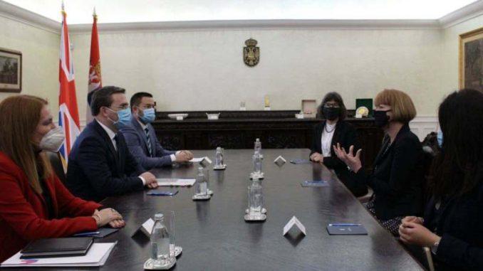 Selaković: Srbija za jačanje saradnje sa Velikom Britanijom 1