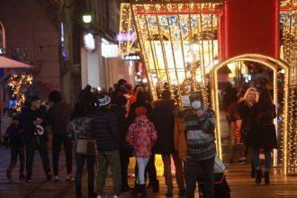 Novogodišnja noć u centru Beograda protekla mirno (FOTO) 6
