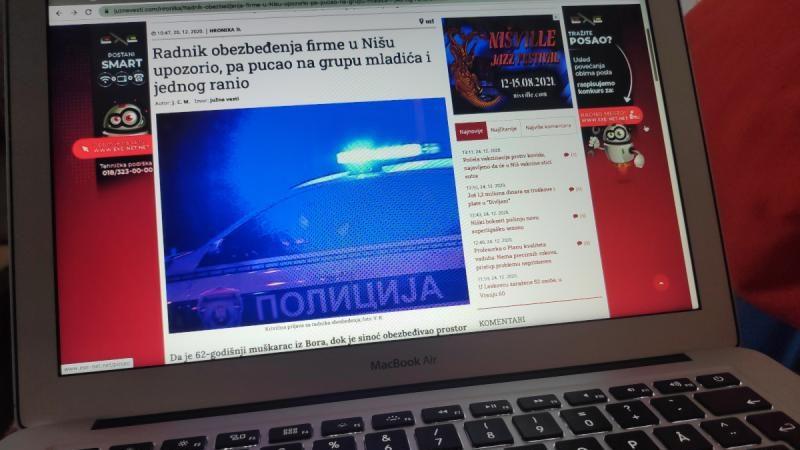 """""""Treba vas obesiti uz javni prenos"""" poručeno novinarima """"Južnih vesti"""", pretnje ispituje Tužilaštvo 1"""