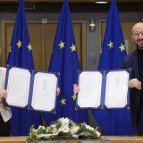 Zvaničnici EU potpisali post-Bregzit trgovinski sporazum sa Velikom Britanijom 3
