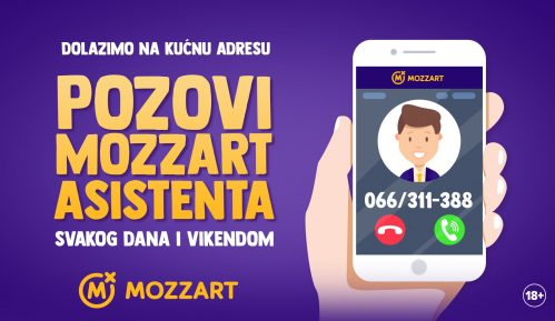 Pozovi Mozzart asistenta – uplati avans sa kućnog praga! 10