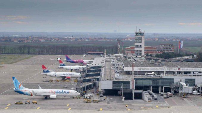 """Na aerodromu """"Nikola Tesla"""" znatno manje letova i putnika u 2020. godini 1"""