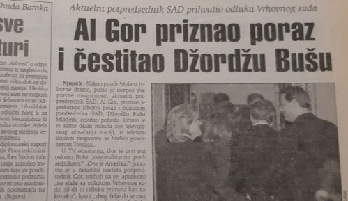 Posle izborne drame Al Gor čestitao Bušu pobedu pre 20 godina 4