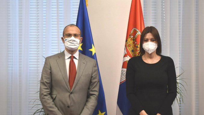 Ministarka Vujović sa šefom Delegacije EU u Srbiji o saradnji u zaštiti životne sredine 4