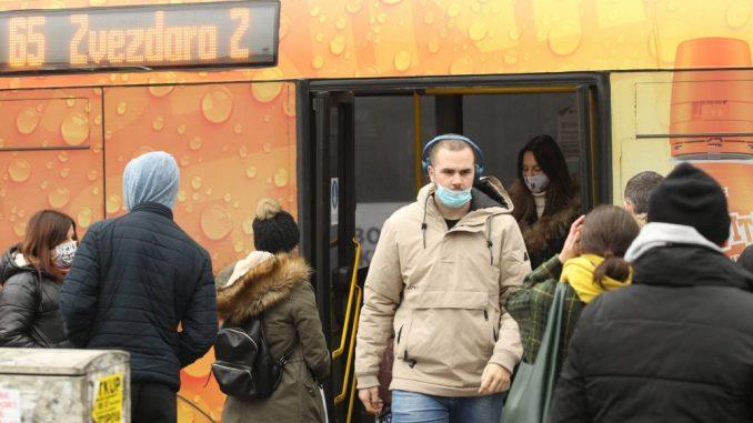 Saobraćajni sindikat pozvao komunalnu miliciju da vrši kontrolu da li putnici nose masku 5