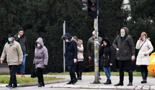 Danas hladno i vedro, posle podne kiša i sneg mestimično 12