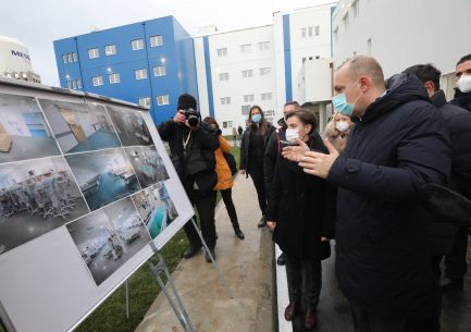 Brnabić: Pacijenti iz Beograda će biti preusmeravani u bolnicu u Batajnici (FOTO) 2