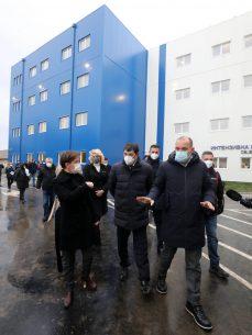 Brnabić: Pacijenti iz Beograda će biti preusmeravani u bolnicu u Batajnici (FOTO) 3